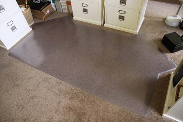 Custom Chair Mats for Carpet are Custom Desk Chair Mats by American ...