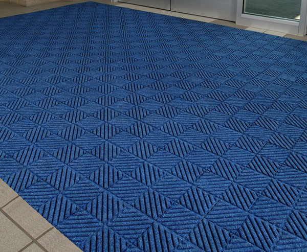 Waterhog Diagonal Floor Tiles are Recessed Waterhog Tiles by ...