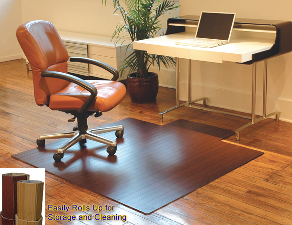 Bamboo Mats Are Bamboo Chair Mats And Bamboo Desk Mats