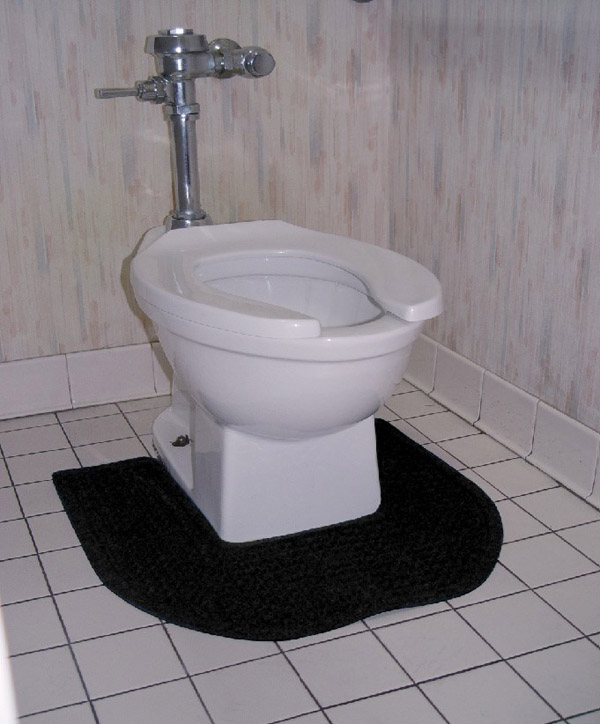 Bathroom Toilet Mats are Anti-Bacterial Commode Mats by American ...