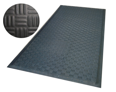 Comfort Rubber Mats are Rubber Anti-Fatigue Mats by American Floor Mats