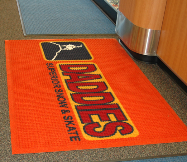 Wonderful Waterhog Logo Floor Mats