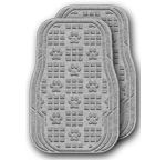 Waterhog Car Mats - Paw Print Pattern
